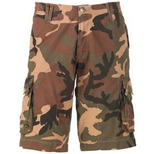 Criminal Damage Mens Cargo Shorts Green Camo £6.98 delivered @ MandM Direct