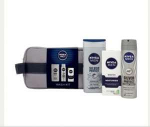 Nivea gift set and wash bag for men. Reduced to clear £3 ~ Tesco in store.