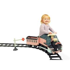 Avigo 6V Ride On Steam Express Train with 22pc Track - Pink - £29.96 - InStore @ ToysRUs