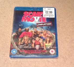 Scary Movie V Blu-Ray in HMV Newcastle just £2.99 reduced from £17