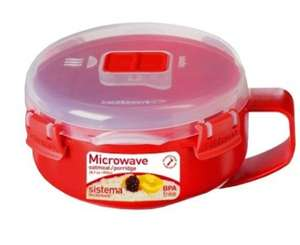 Sistema porridge bowl - save 50% £3 at Amazon  (add on item / £10 spend)