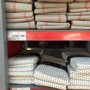 Wipe clean tablecloth £2.50 at Asda- were £10