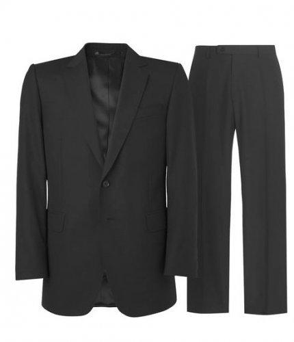 JAEGER Classic Black Plainweave Suit WAS £360.00 NOW £63.95 DELIVERED!