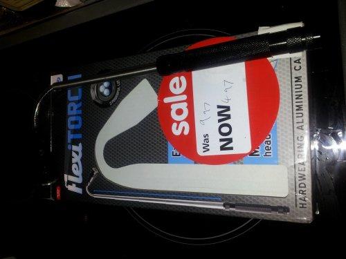 Flexi torch £4.97 @ Asda instore