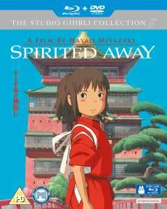 Spirited Away Blu-Ray & DVD - £12.59 with WELCOME code at Zavvi (£13.99 without code)