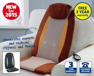 Shiatsu Massage Seat - £39.99 @ ALDI