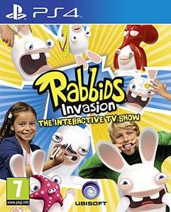Rabbids Invasion on Xbox One/PS4 (Requires Kinect/Playstation Camera) £11.85 with free postage @ simplygames
