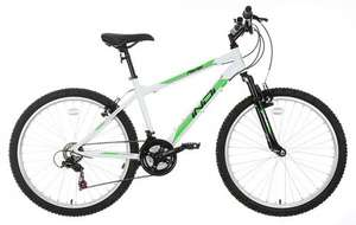 "Indi Asriel Mens/Teens Mountain Bike - 17"", White £99 @ Halfords"