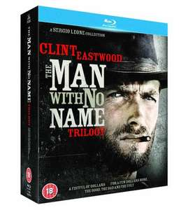 The Man With No Name Trilogy [Blu-ray] 9.99 in store @ Hmv