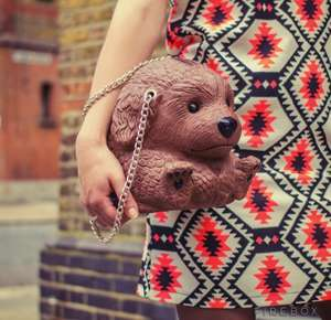 The original dog handbag £9.99 from firebox £3.95 delivery or free over £50