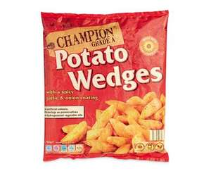 Aldi 1kg French Fries & 750g Wedges 59p (free via checkout smart ends 8th jan)