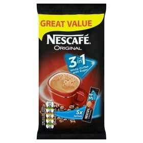 nescafe 3 in 1 5 pack asda 50p @ Asda
