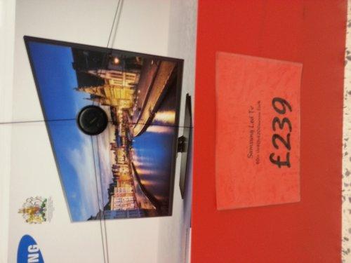 """Samsung 40"""" LED Tv UE40H4200AWXXU @ ASDA in-store £239"""