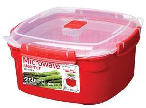 Sistema 2.4 Litre Microwave Steamer - £4.20 ( £3.30 P&P / free £10 spend/prime) at Amazon