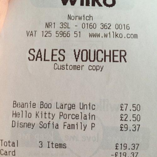 Disney Sofia the first family set £9.37 @ Wilko