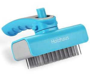 Holzhaus Pet Deshedding Grooming Tool for Small, Medium & Large Dogs & Cats with Short to Long Hair £4.89 with code Sold by Avantek UK and Fulfilled by Amazon. (free delivery £10 spend/prime