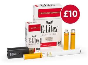 E-Lites Winter Essentials E-Cig starter kit £11.99 delivered (with code) @ E-lites.