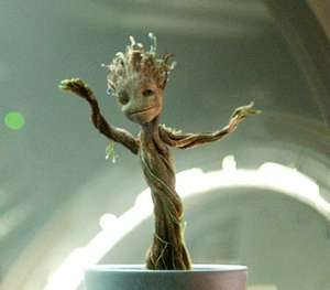 Baby Groot Dance Wallpaper (for Phone or Tablet) @ Amazon