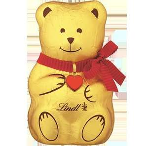 LINDT chocolate bear 500 (!) grams for £4.50! (£3.95 p&p) (Min order £10)