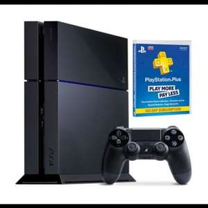 Ps4 + ps plus 12 month £298.99 @ Argos / ebay