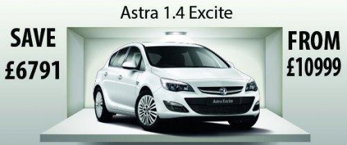 Vauxhall ASTRA 1.4 Energy, pre reg, £10999 @ Lookers