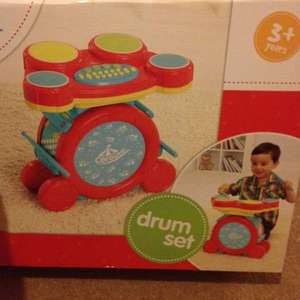 Carousel Drum Kit £7.50 @ Tesco