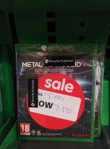 Metal Gear Solid V: GroundZeroes Xbox One Asda £7.50