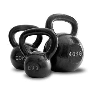 32kg Cast Iron Kettlebell £32.63 @  Amazon