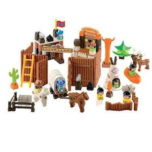 abrick Wild West Fort Playset £4.99  W/ Free Click & Collect @ The Entertainer - The Toyshop