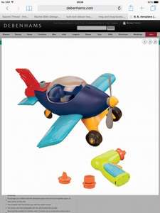 At Debenhams £13.50 instead of £27, click and collect available. B. Aeroplane (Build-A-Ma-Jigs)