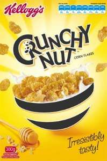 Kellogg's Crunchy Nut Corn Flakes - 750g @ Tesco