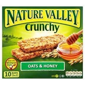 Nature Valley Crunchy Granola bars (5 x 42g) various flavours - £1.24 at Waitrose