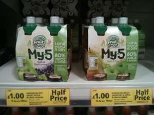 My-5 fruit shoots 4 pack for £1 @ tesco instore