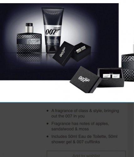 James Bond 007 Edt 50Ml Set + Sg 50Ml half price £12.50 @ Tesco