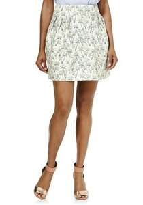 Palm print Mini skirt £1.00 from £14 @ tesco f&f size 18 only