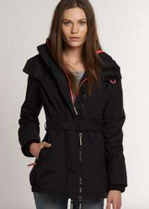 New Womens WindCheater Superdry Pop Zip Wind Mac Jacket Black - New inventory added today... £29.99 @ Superdry / Ebay