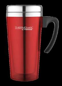 ThermoCafé by Thermos Soft Touch Travel Mug £2 @ Halfords Instore