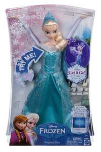 NEW Singing Elsa Doll from Frozen - Actually Sings 'Let It Go' - £39.99 @ Amazon