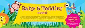 Asda Baby & Toddler Event Starts online Saturday 17th January & In store Monday 19th January 2015