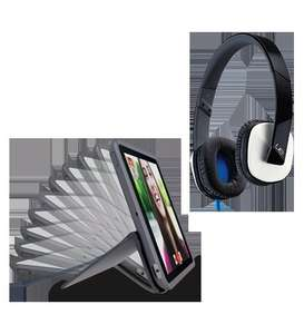 Logitech AnyAngle Ipad Mini or Ipad Air 2 Case for £49.99 with free UE 4000 Headphones - Logitech