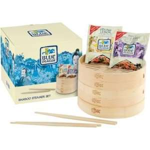 Blue Dragon - Bamboo Steamer Set. £5.99 was £19.99 @ Argos
