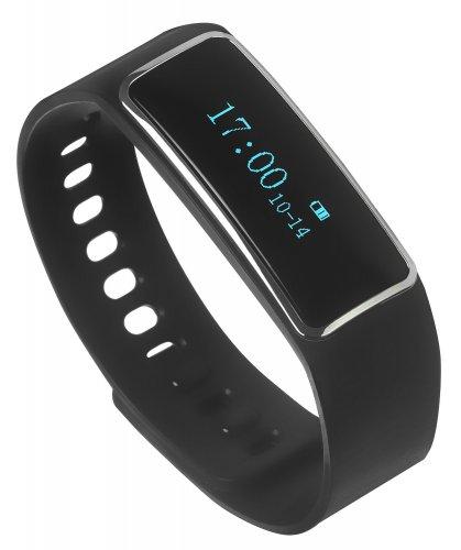 Milestone Altitude Water Resistance Bluetooth Movement and Sleep Activity Tracker  (Black) £29.99 @ e2save
