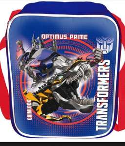 Transformers Lunch Bag - reduced to £3.00 @ Debenhams with free click and collect, was £10.00