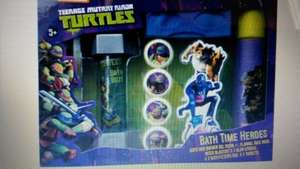 Teenage Mutant Ninja Turtles gift sets and others half price IN STORE £3.75 @ Tesco