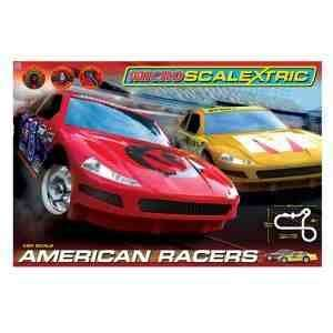 Micro Scalextric American Racers £27 at Debenhams