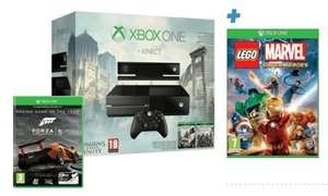 Game - Xbox One with Kinect, Assassin's Creed: Unity, Assassin's Creed IV: Black Flag,  Lego Marvel & Forza 5 GOTY - £349.99