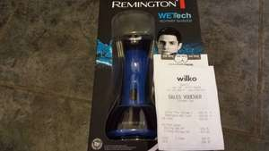 Remmington wet tech rotary shaver £16.75 in store Wilkos