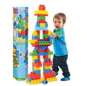Mega Bloks 140 Piece Maxi Tube LESS THAN HALF PRICE Was £29.99 Now £11.99 @ Argos Reserve and Free collection