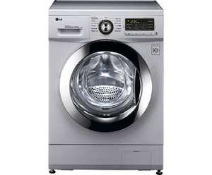 LG Direct Drive F1496AD5 Freestanding Washer Dryer - Silver @ AO.com  £459  Was £529