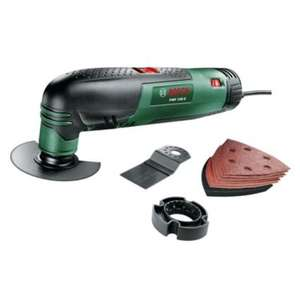 Bosch PMF 190 E Just £50.00 @ B&Q It's an Oscillating Multi-Tool with Cutting Discs, Saw Blades and Sander Sheets